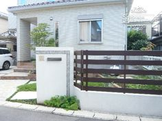門柱 塗装 樹脂フェンス