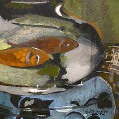 Georges Braque, L'aquarium, 1960-62.