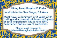 Local job in the #SanDiego, CA Area