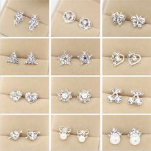 US $2.37     Buy Jewelry At Wholesale Prices!     FREE Shipping Worldwide     Get it here ---> http://jewelry-steals.com/products/wlp-brand-jewelry-new-fashion-earring-2017-fashion-brand-rhinestone-stud-earrings-women-alloy-crystal-studs-earring-for-women/    #silver_jewelry