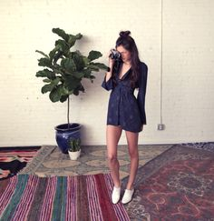 The Stone Cold Fox Don Diego Dress in Navy  http://store.thestonecoldfox.com
