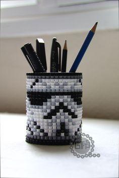 Star Wars pencil box perler