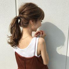 簡単なまとめ髪を長さ別にご紹介☆不器用さんでもできる! | folk Bangs Updo, Up Styles, Hair Styles, Hair Arrange, Fashion Beauty, Womens Fashion, Yukata, Pretty Hairstyles, Updos