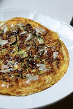 Zucchini-Shallot Frittata