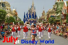 July at Disney World is busy, hot and expensive (and sometimes it's the only time you can go so keep reading for tips and info on visiting at this time of year). Some tips for traveling in July: Traveling to Disney World during a busier time means you have to be extra diligent about having a...