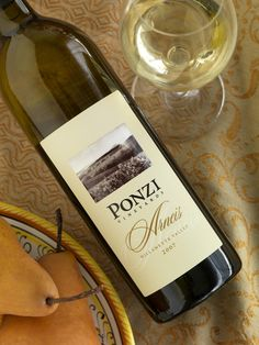 Ponzi Vinyards 2011 Arneis Willamette Valley - a grapefruity white with a bit of spice. I like it a lot. ~$25 Wine Ratings, Willamette Valley, Wines, Bottle, Spice, Flask, Jars, Herbs