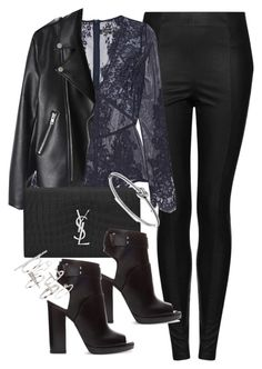 """Untitled #5102"" by angela379 ❤ liked on Polyvore featuring Topshop, I.D. SARRIERI, Yves Saint Laurent, Zara and Michael Kors"