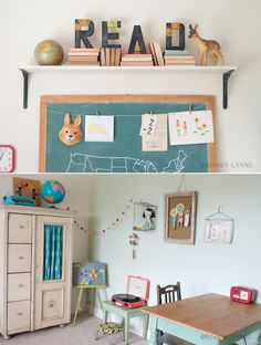 eclect kid, vintage school, playroom design, kid spaces, kid rooms, study rooms, mandylynn schoolroom, kids, school rooms