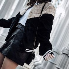 All about the faux fur bomber right now This oneshellip
