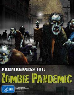 CDC zombie prepardness 101