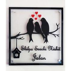 Shilpa Jalan Family - Acrylic Nameplate