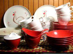 Vintage Melmac Dish Set. $50.00, via Etsy.