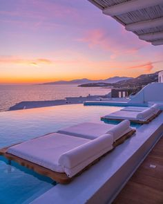 Vacation Trips, Dream Vacations, Vacation Spots, Vacation Places, The Places Youll Go, Places To Go, Cavo Tagoo Mykonos, Mykonos Villas, Beautiful Villas