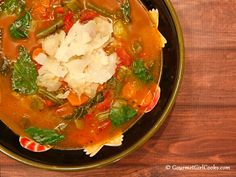 Gourmet Girl Cooks: Minestrone Soup - Low Carb