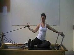 Material de estudios pilates reformer 2 Amici - YouTube