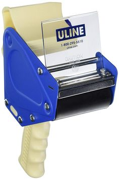 NEW Uline Packing Tape Dispenser Gun Side Load: Heavy Duty Pistol Grip Box Tape Dispenser for Packing, Shipping & Sealing Boxes - Uses 3 inch wide Tape - Easy to Load from the Side Amazon Fba Business, Online Business, Tape Dispenser, Tax Deductions, Selling Online, All In One, Office Supplies, Guns, Packing