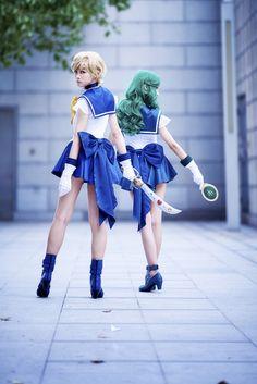セーラーウラヌス (美少女戦士セーラームーン) Epic Cosplay, Awesome Cosplay, Anime Cosplay, Cosplay Girls, Sailor Chibi Moon, Sailor Uranus, Sailor Neptune Cosplay, Naoko Takeuchi, Sailor Mercury
