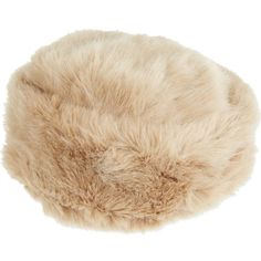 TED BAKER Faux fur hat ($74) ❤ liked on Polyvore featuring accessories, hats, beige, faux fur hat, fake fur hats, ted baker and band hats