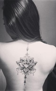 50 incredible lotus flower tattoo designs you inspire me spine tattoo looks very sensuous when someone wears backless and it is very popular in celebrities today we have 25 best spine tattoo ideas for women mightylinksfo
