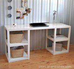 diy desk by erica