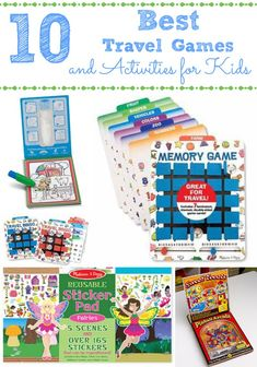 10 Best Travel Games and Activities for Kids - http://innerchildfun.com/2014/06/10-best-travel-games-activities-kids.html #kids