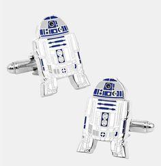 R2D2 #StarWars Cufflinks