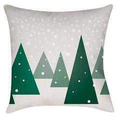 Winter Wonderland Throw Pillow - Surya : Target