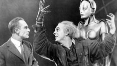 Metropolis is a 1927 German expressionist epic science-fiction film directed by Fritz Lang. The film was written by Lang and his wife Thea von Harbou, and starred Brigitte Helm, Gustav Fröhlich, Alfred Abel and Rudolf Klein-Rogge.
