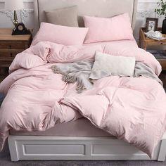 Bedroom Comforter Sets, Comforter Cover, Duvet Sets, Duvet Cover Sets, Light Pink Comforter, Queen Size Bedding, Pink Duvet Covers, White And Pink Bedding, Fur Comforter