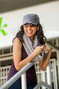 The Grey Basic SHOLDIT scarf with a hidden pocket, is the perfect game day wear, can hold all your valuables safely and securely leaving your hands free, and your purse at home.