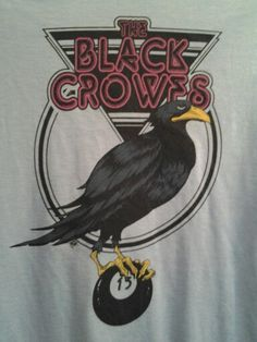 The Black Crowes, my t-shirt from the show...excellent.