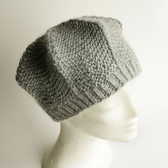 baret °star° knitted hat english pattern (also in german)