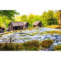 POSTER: Bosnische Landschaft