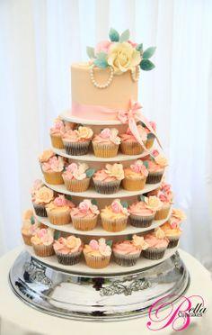 Bella Cupcakes: Vintage Wedding