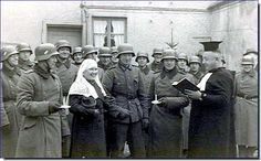 A wedding in the Wehrmacht at the front