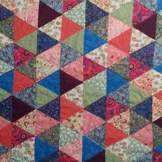 Quilt by Janet Flagel and Nadine Flagel. A baby quilt my mother and I made: she pieced the top and layered it all and I handquilted it in a diamond pattern. Hand Quilting, Diamond Pattern, Baby Quilts, Blanket, Fabric, Instagram Posts, Top, Tejido, Hand Embroidery
