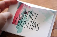 watercolor greeting cards {via A little artsy}