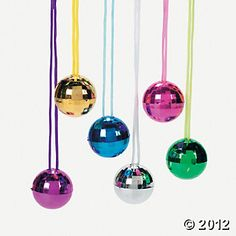 Disco Ball Necklaces - Oriental Trading