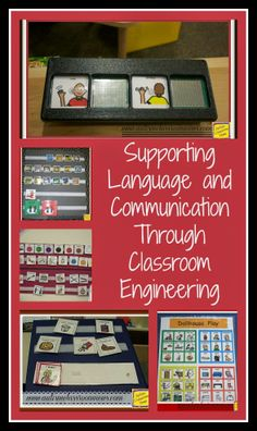 Supporting Language and Communication Through Classroom Engineering by Autism Classroom News: http://www.autismclassroomnews.com
