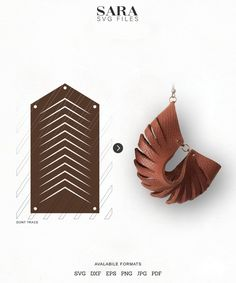 Jewelry OFF! Sculpted Earring SVG Leather Twisted SVG Pendant SVG Tridimensional Earrings dxf Leather Jewelry Laser Cut Template Commercial Use Diy Leather Earrings, Wooden Earrings, Leather Jewelry, Diy Jewelry, Jewelery, Jewelry Making, Custom Jewelry, Crea Cuir, Leather Tutorial