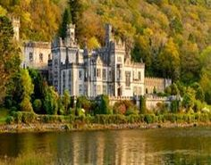 I think my Benedictine alma mater REQUIRES that I visit Kylemore Abbey someday!