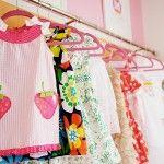 upclose of exposed closet