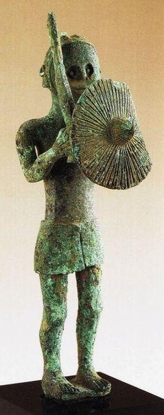 Guerriero sardo, VII-VI