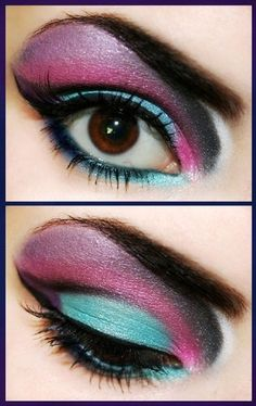 i love bold eye makeup ^_^