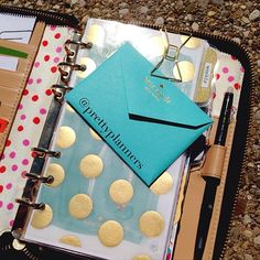 Where I keep my mark-it dots. Agenda Planner, Life Planner, Happy Planner, Kate Spade Planner, Midori, Household Binder, Planner Dashboard, Day Planners, Planner Organization