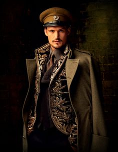 [original pin description: Baroque Men - no modern steampunk fashion a la Russe]