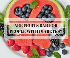 Are some of us who have diabetes worried about eating fruits? Will it be bad or not? Check out our article http://asianfruitworld.com/should-people-with-diabetes-not-eat-fruits/ #fruits #health #healthyfruits #asianfruitworld #diabetes