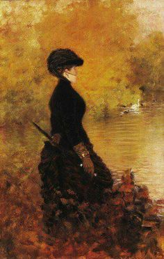 Giuseppe De Nittis |  Italian painter whose work merges the styles of Salon art and Impressionism.