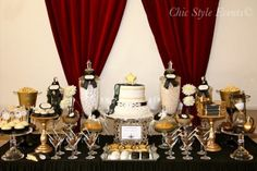 Little Big Company | The Blog: Old Hollywood Glam Party by Chic Style Events I love this idea!!