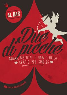 Valentine's day at Al bar (poster)